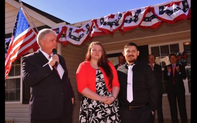 Army Vet and Wife Given Home in Boiling Springs, SC